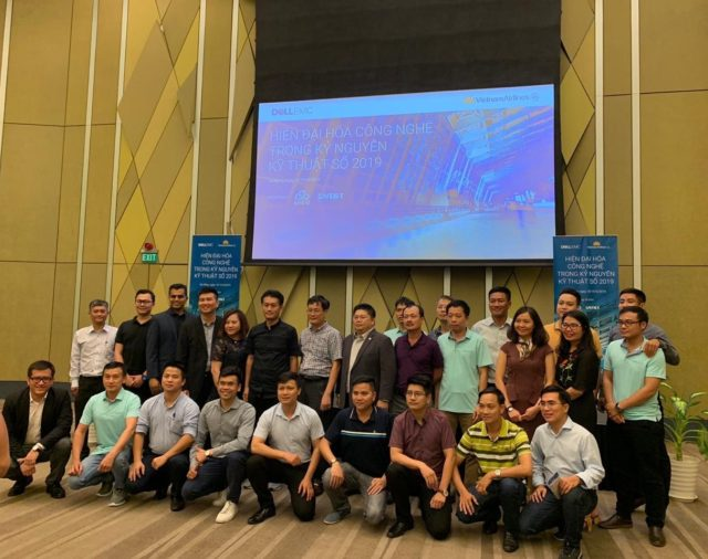 NT&T IS MAIN SPONSOR FOR DELLEMC VIETNAMAIRLINES SEMINAR