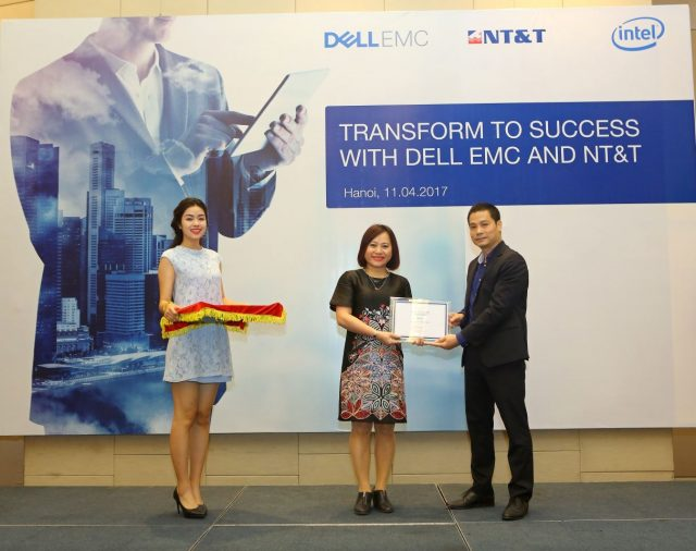 DELLEMC SELECT NT&T AS THE VALUE ADDED DISTRIBUTOR IN VIET NAM