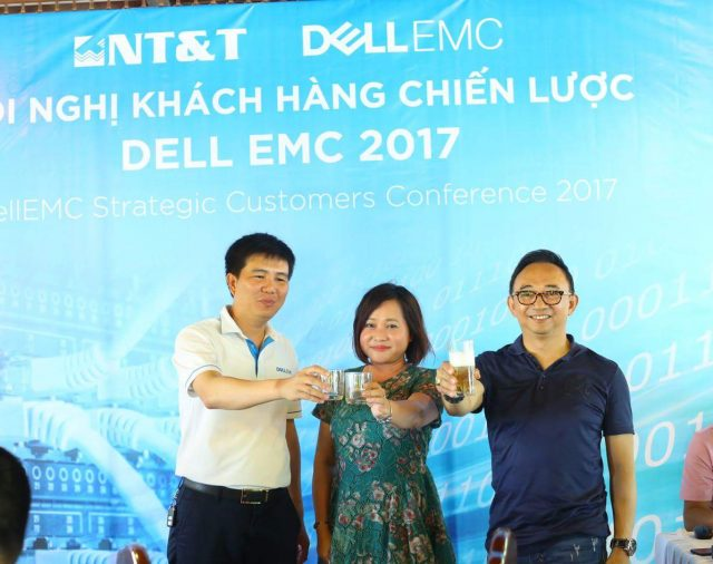 NT&T and DellEMC annual strategic customer conference 2017