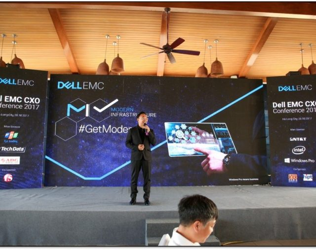NT&T is honored to be main sponsor for DellEMC CxO Conference Vietnam 2017 - HaLong