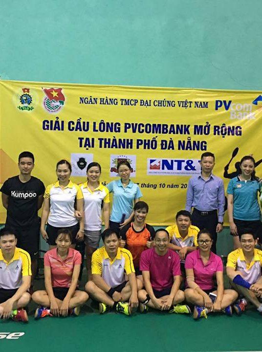 NT&T sponsors for Pvcombank Badminton Open 2017