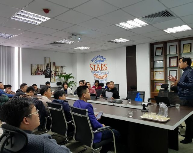 Networking Training For Partners in Hanoi