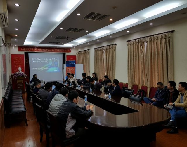 NT&T and DellEMC hold an event specifically for Vietinbank ITC
