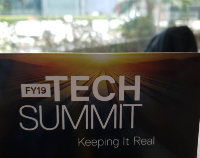 NT& T join DellEMC anual tech summit FY19 in Kuala Lumpur September 2018